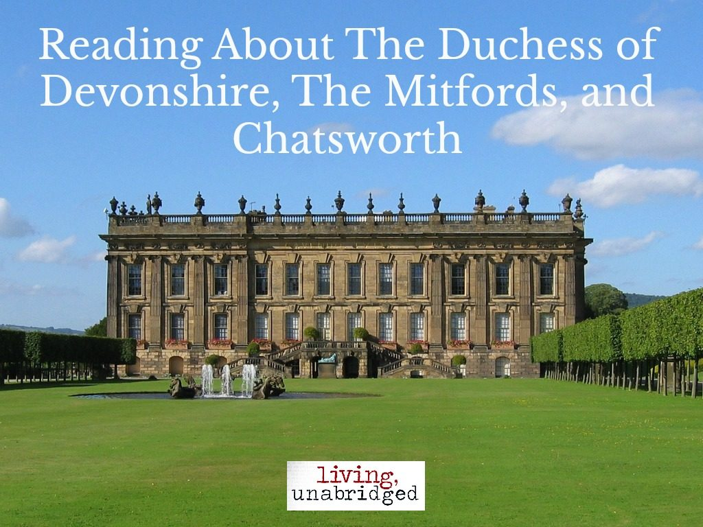 reading about the duchess of devonshire