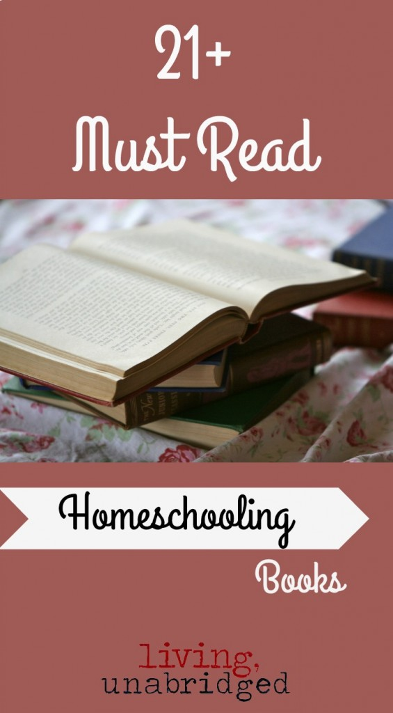 must read homeschooling books pin