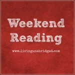 Weekend Reading – November 1, 2014