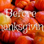 5 Things Friday: Before Thanksgiving