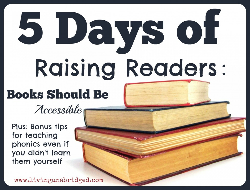 5 days raising readers be accessible