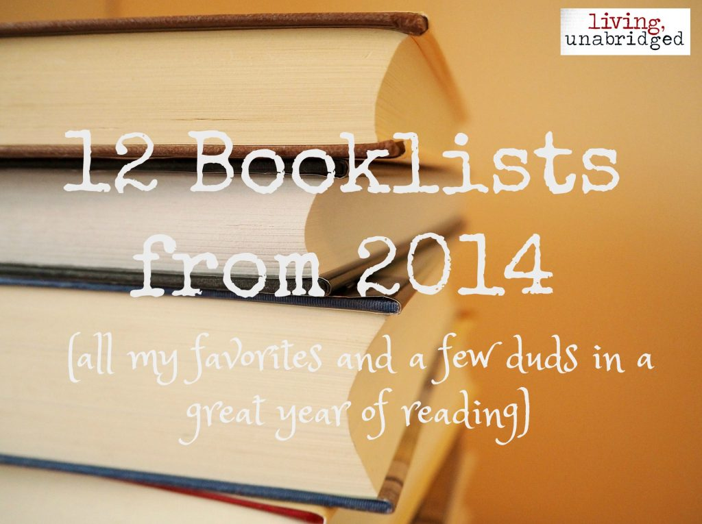 booklists from 2014