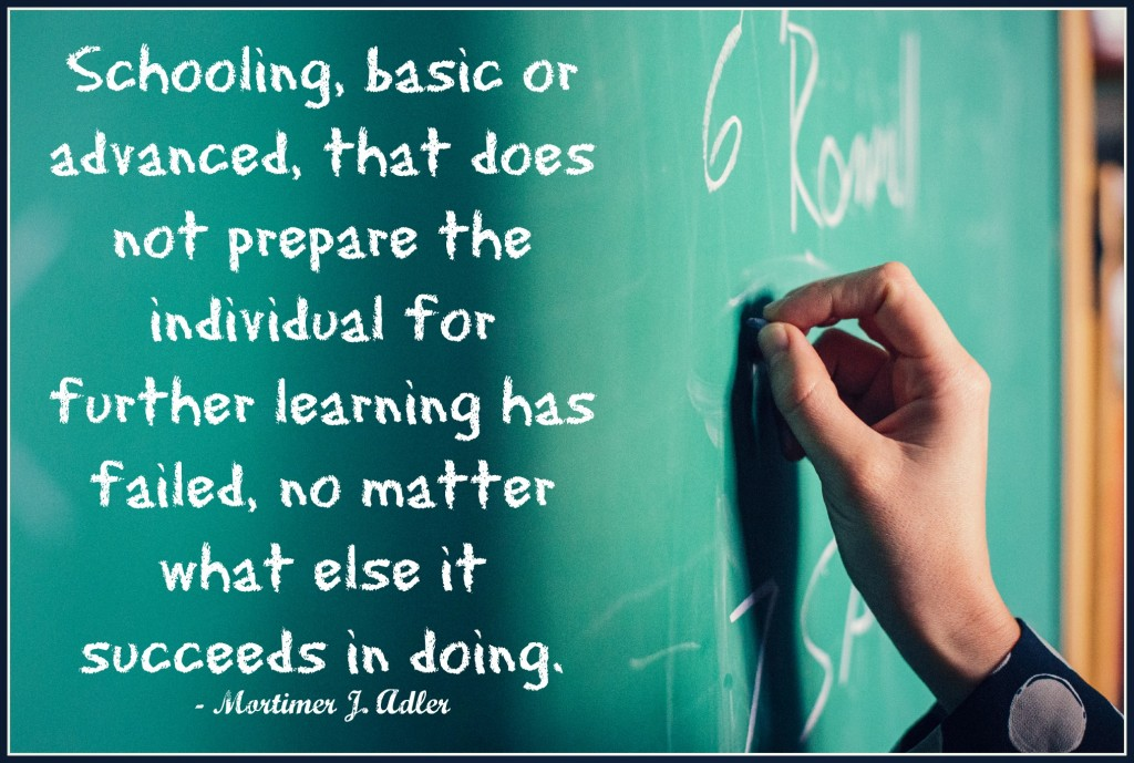 schooling and further learning