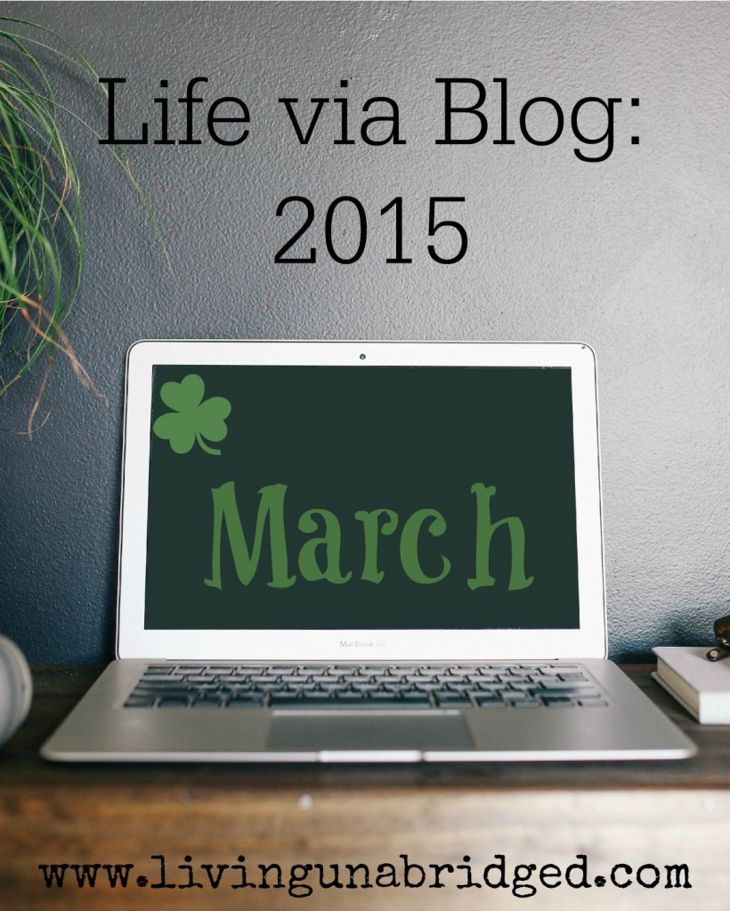 life via blog march