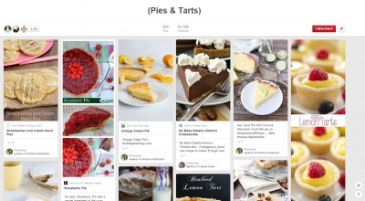 pies and tarts group