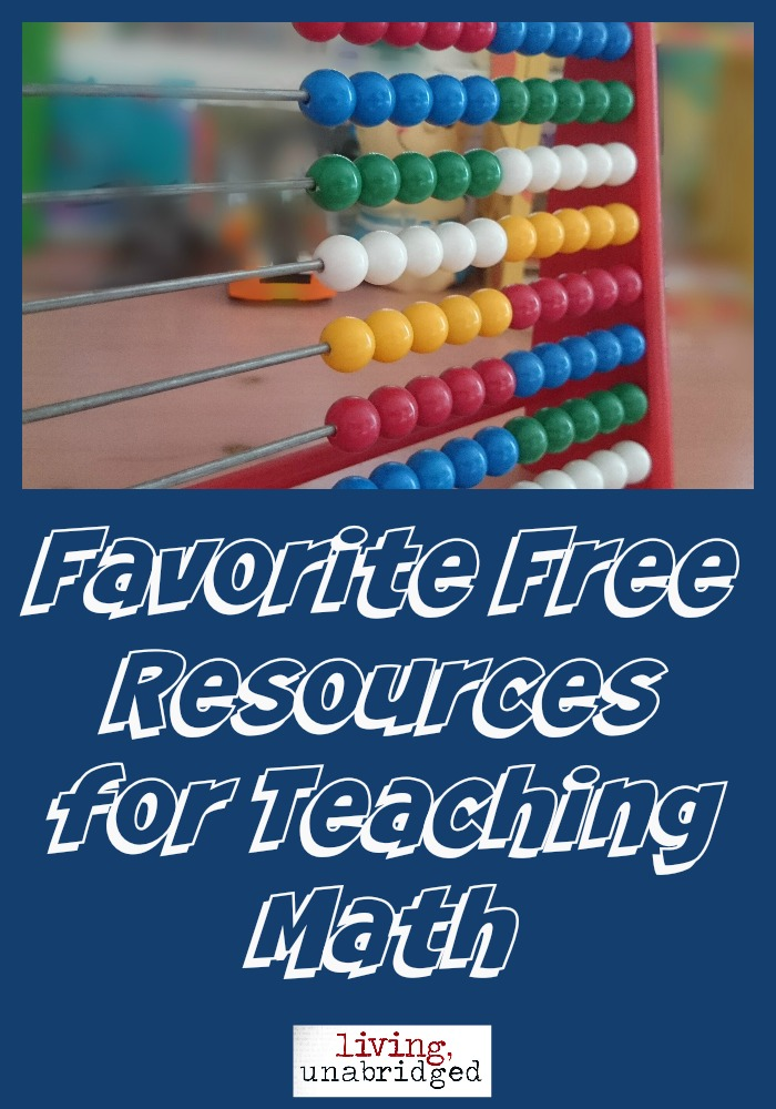 free resources for teaching math