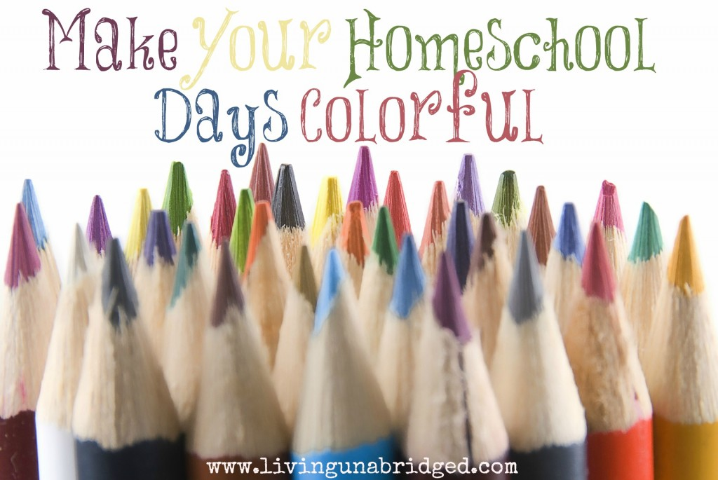 colorful homeschool days