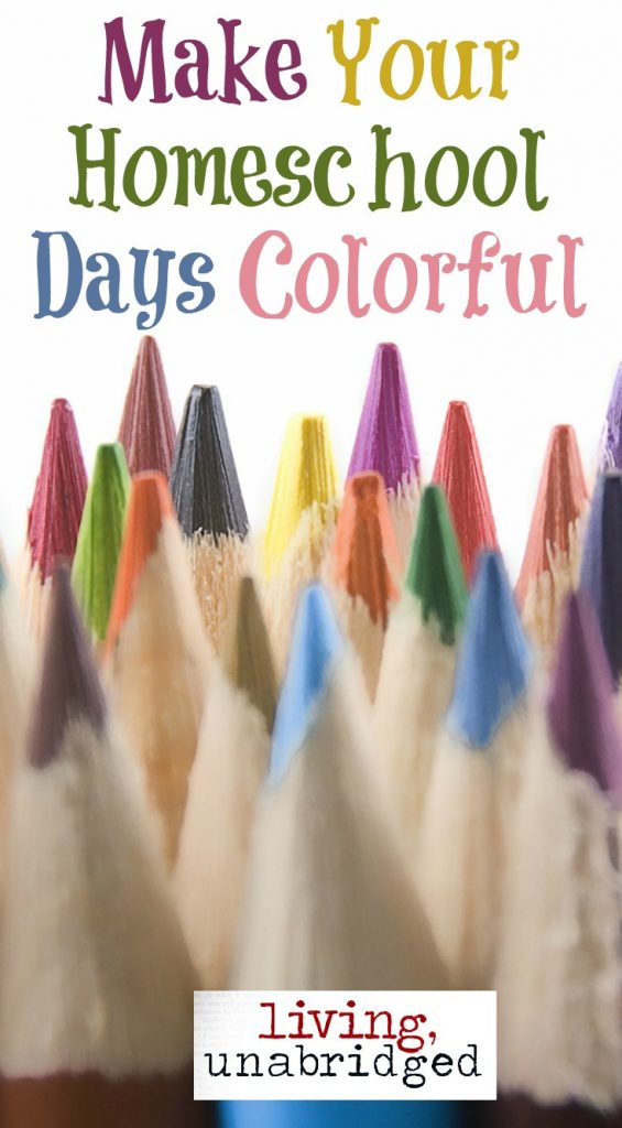 homeschool days colorful