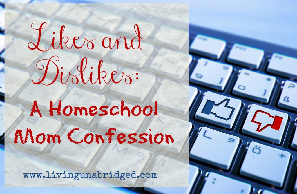 likes and dislikes homeschool confession