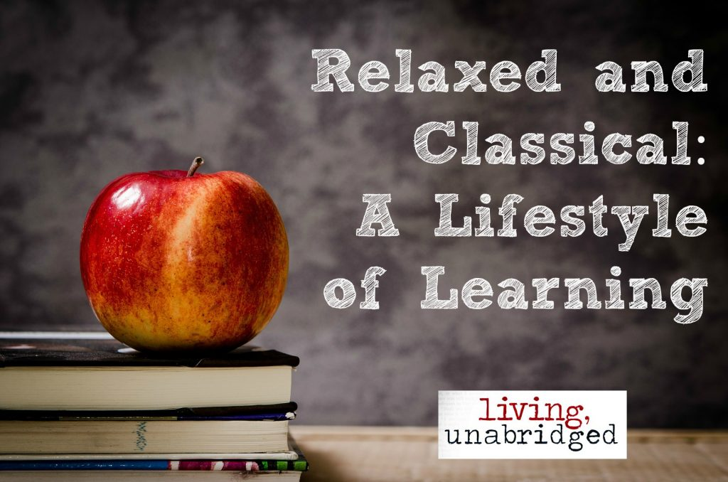 relaxed and classical a lifestyle of learning