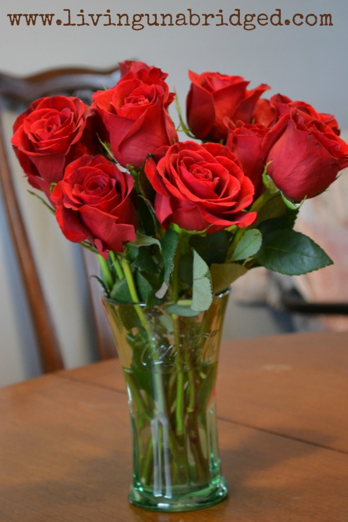 red roses for our 16th anniversary