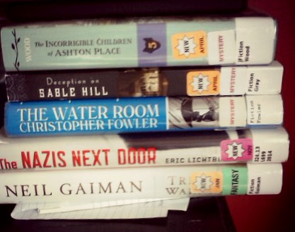 book stack for june 17