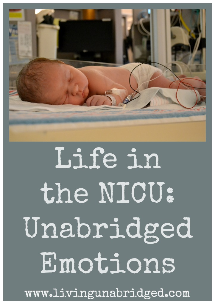 life in the nicu brings many mixed emotions