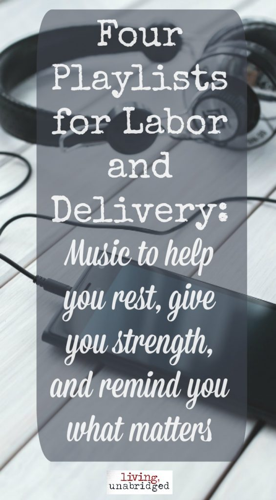 four playlists for labor