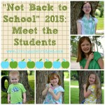 """Not Back to School"" 2015: Student Life"