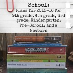 Not Back to School: Curriculum Plans