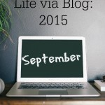 Life via Blog September