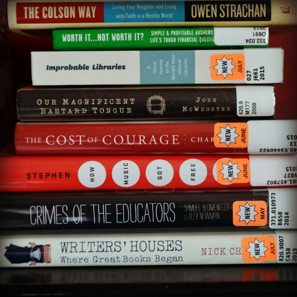 sep 2 nonfiction stack