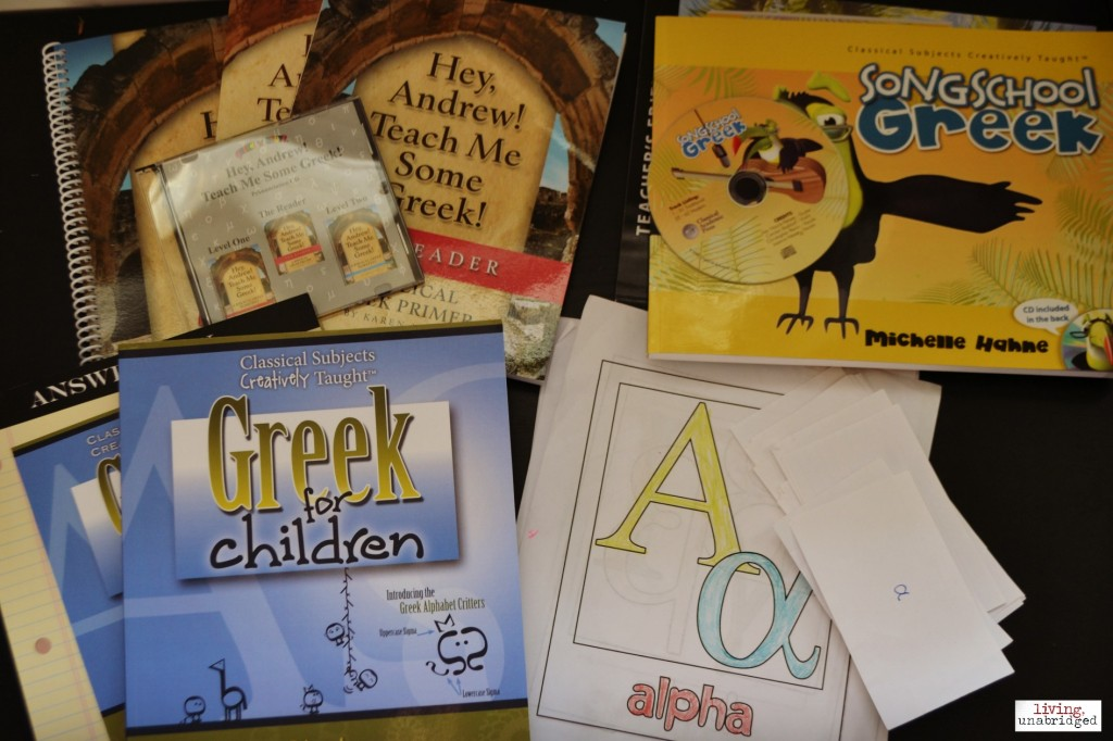 homeschool greek curriculum