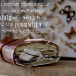 Words on Wednesday – On Excess Possessions