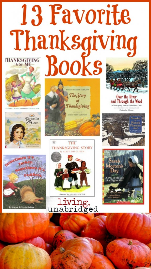 favorite thanksgiving books