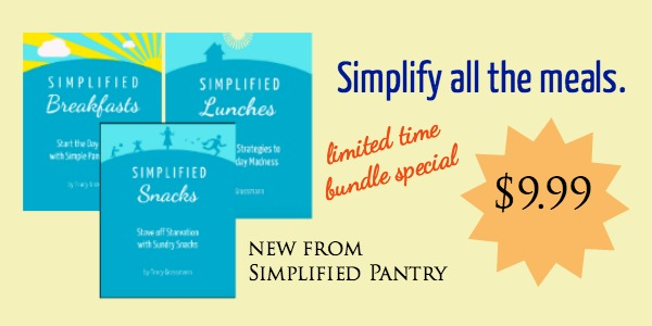 simplified pantry