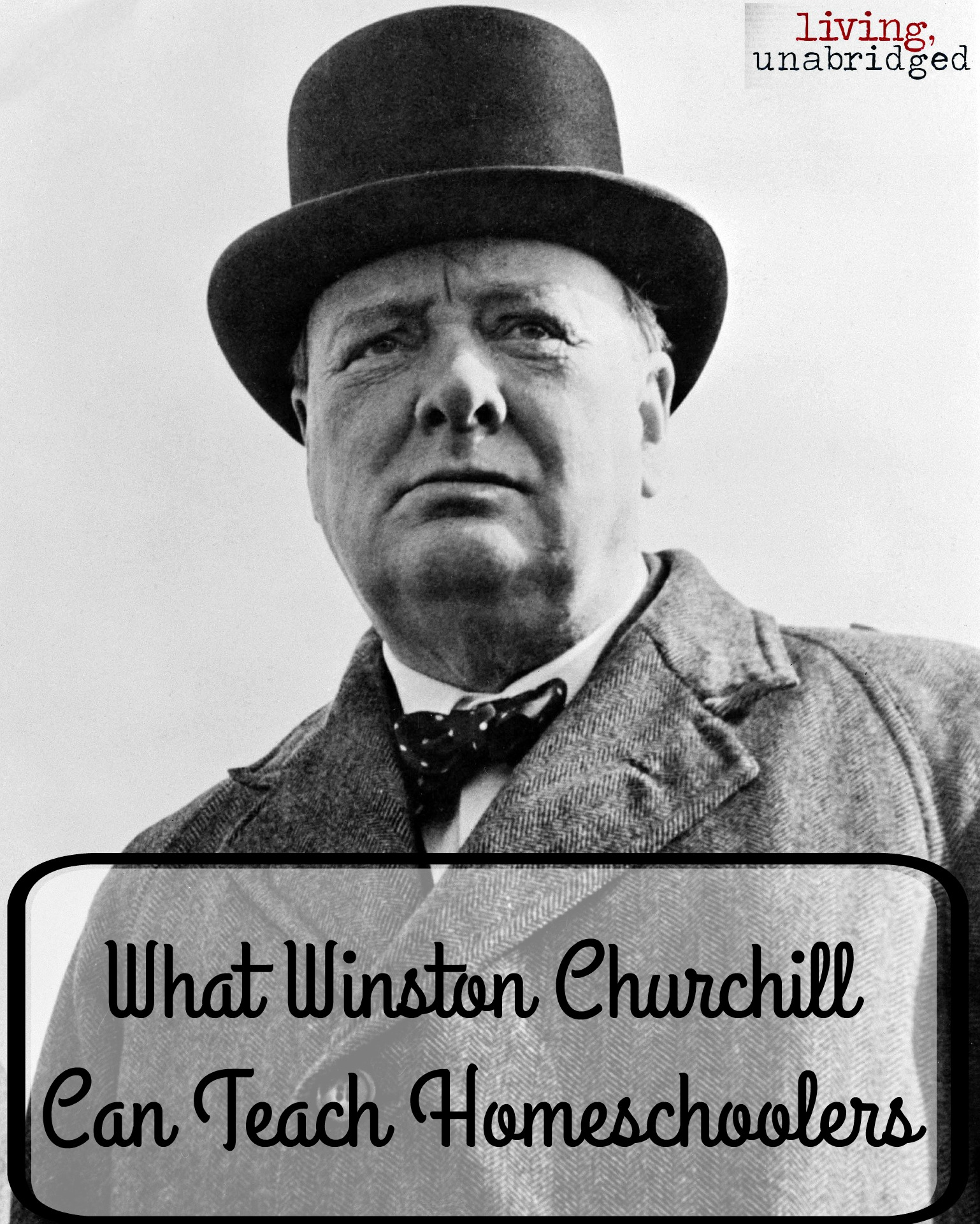 Winston Churchill Love Quotes What Winston Churchill Can Teach Homeschoolers  Living Unabridged