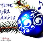 Christmas Playlist Substitutions