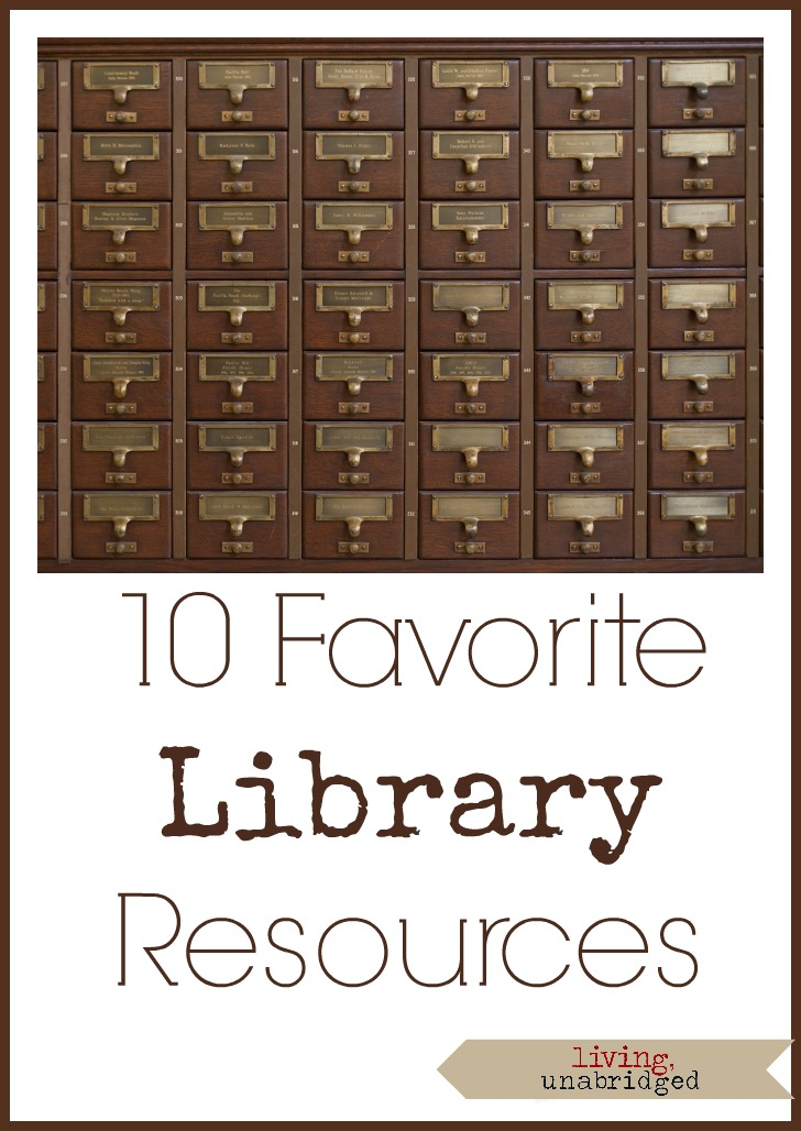 favorite library resources