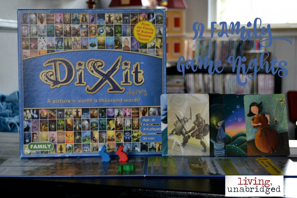 family board game dixit