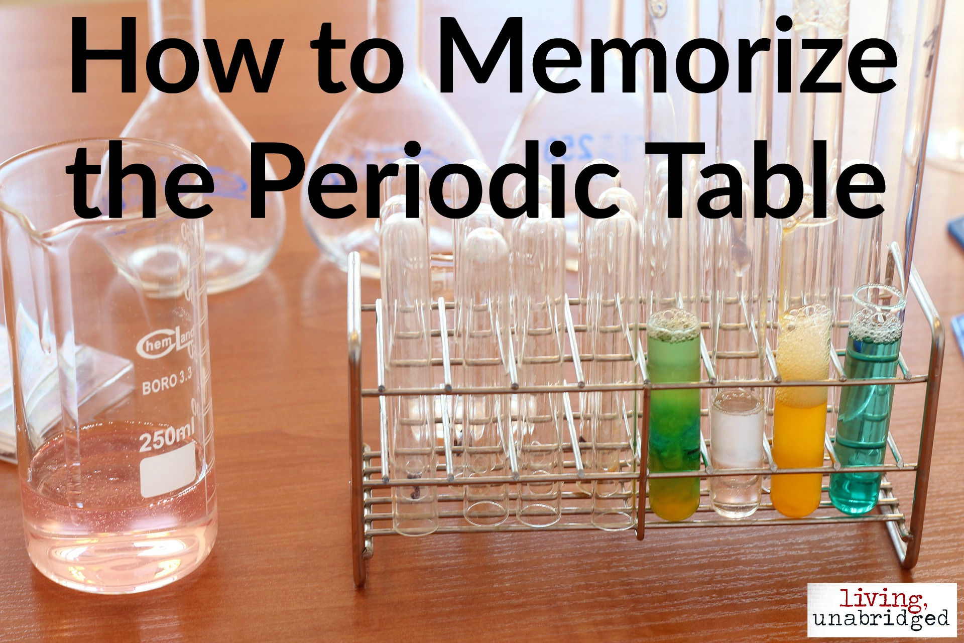 How to memorize the periodic table living unabridged gamestrikefo Gallery