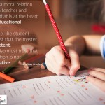 Words on Wednesday – The Moral Relation Between Teacher & Student