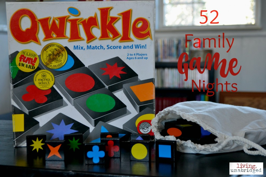 qwirkle game night