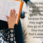 Words on Wednesday – When People Begin to Read