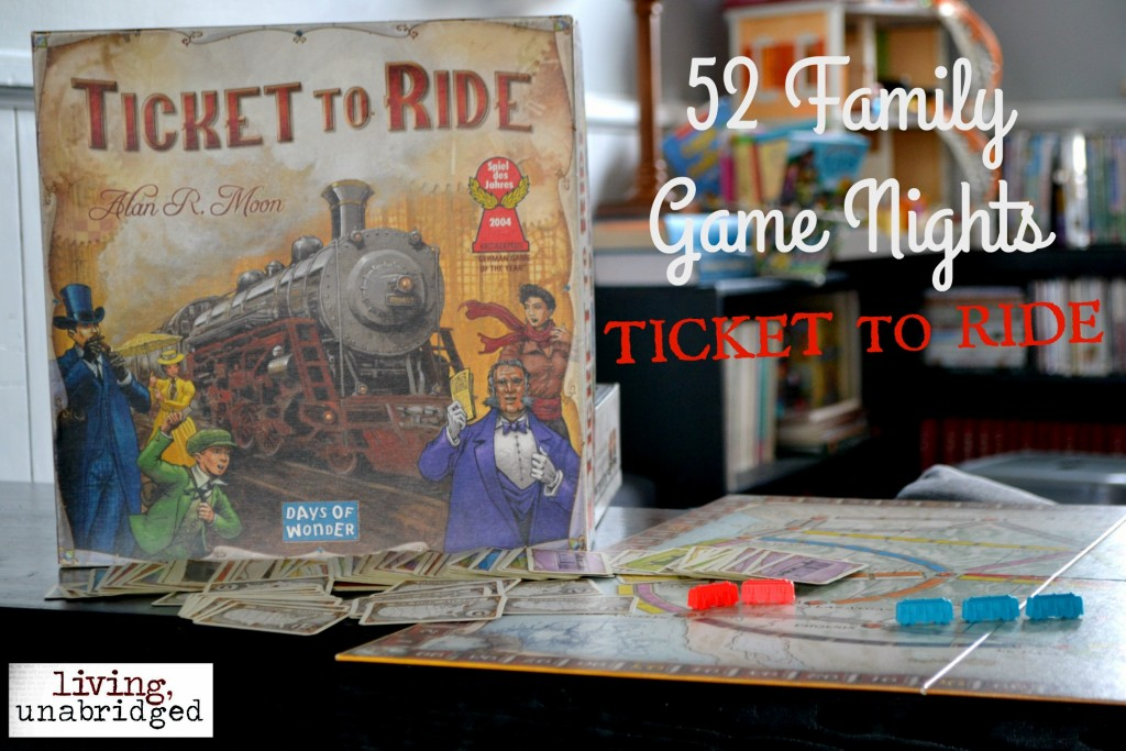 family game night ticket to ride