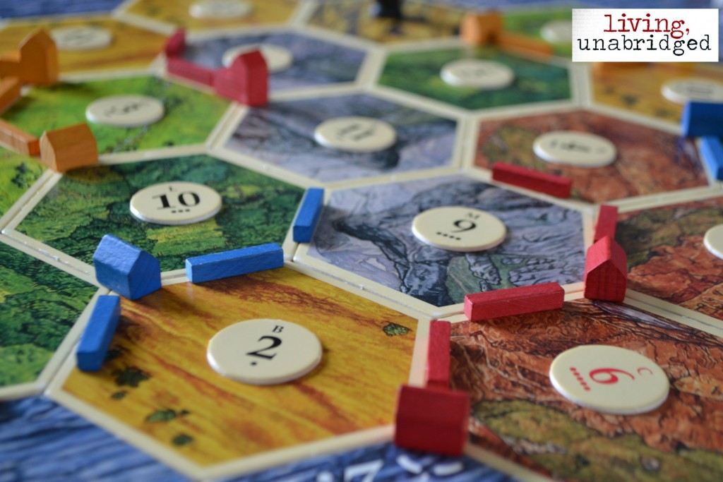 family game night settlers of catan