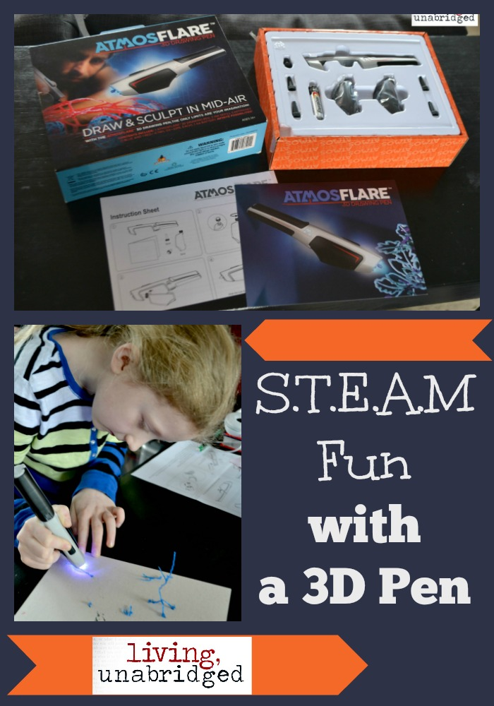 3D pen STEAM fun