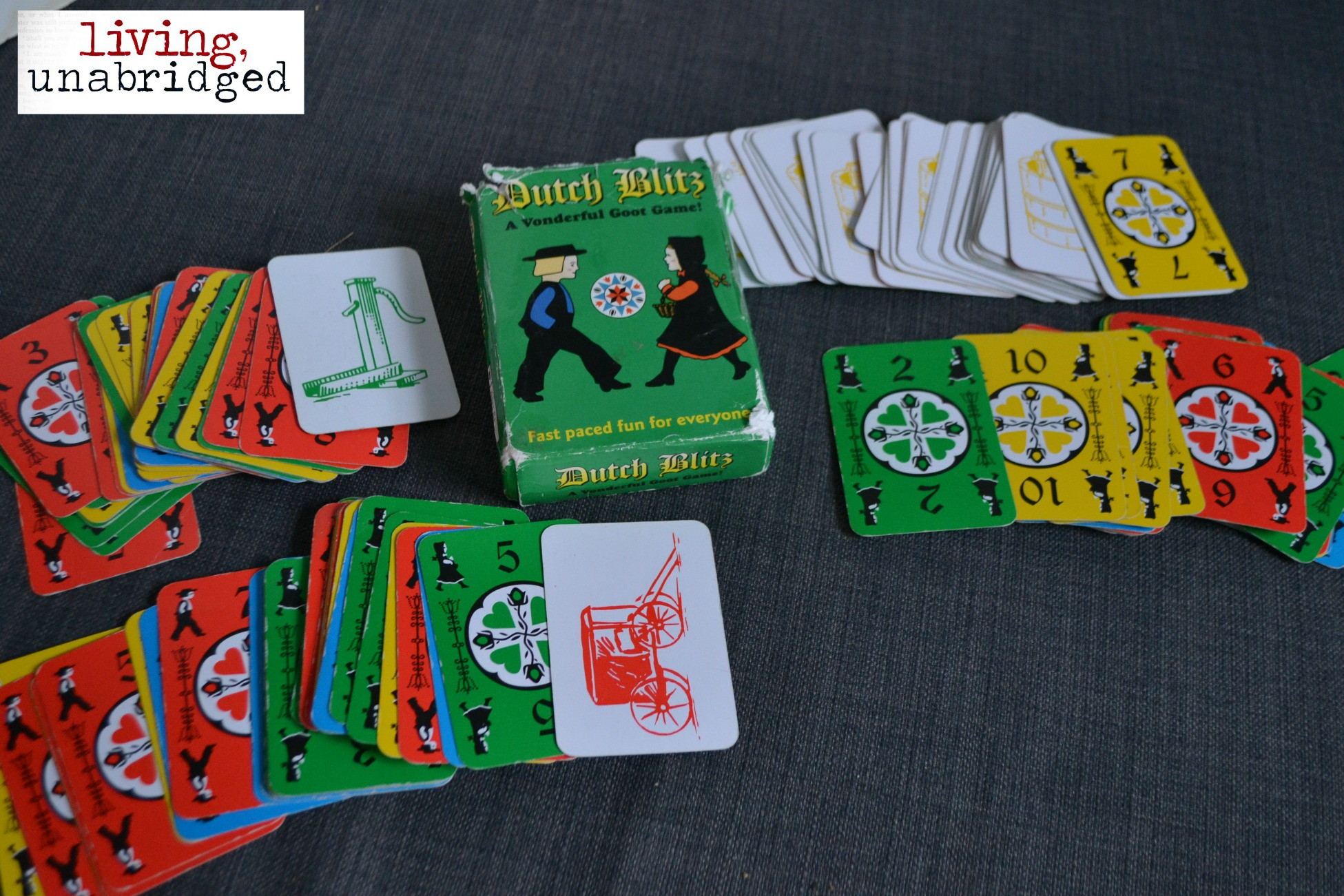 52 Family Game Nights Dutch Blitz Living Unabridged