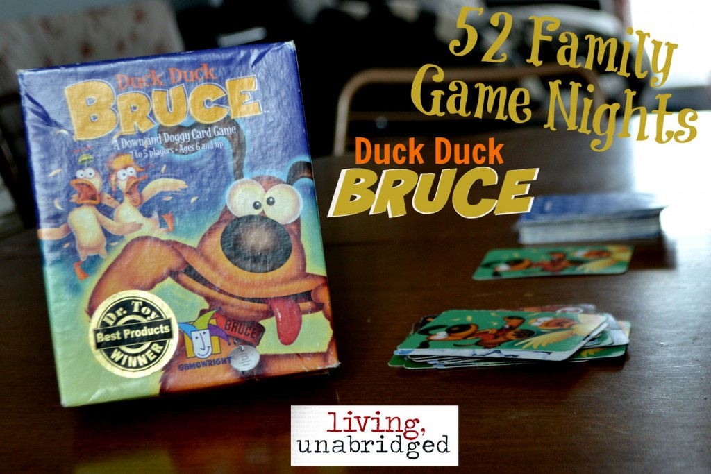 family game night duck duck bruce