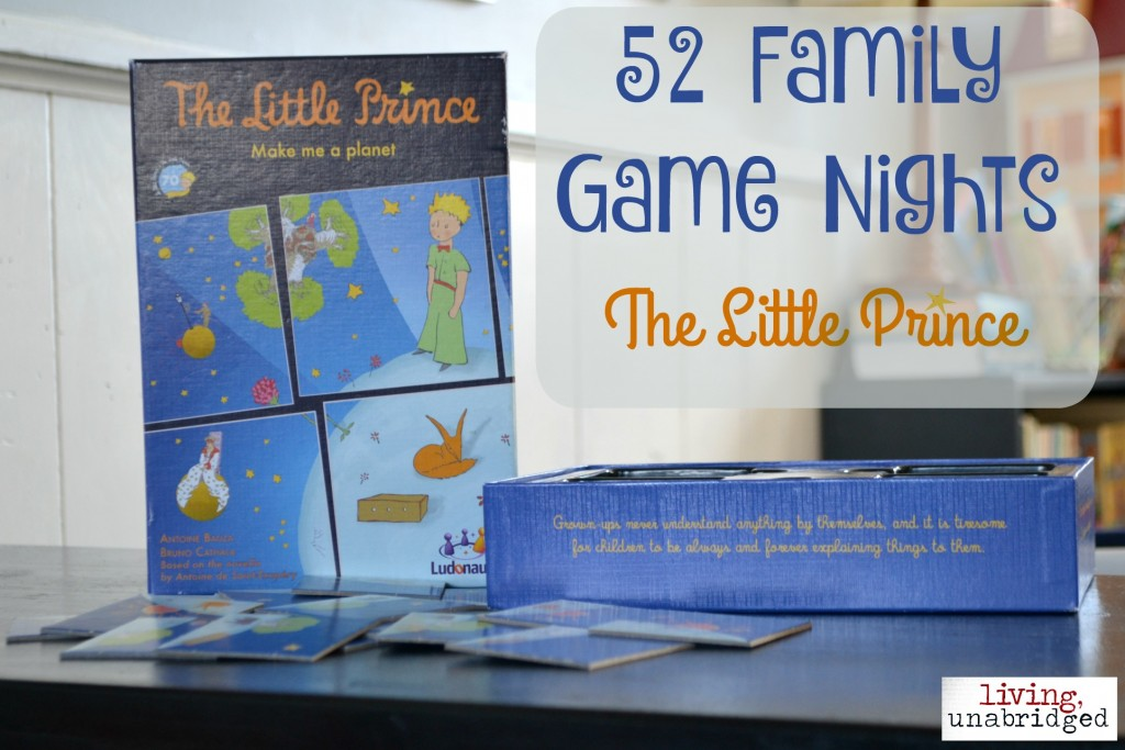 family game night little prince