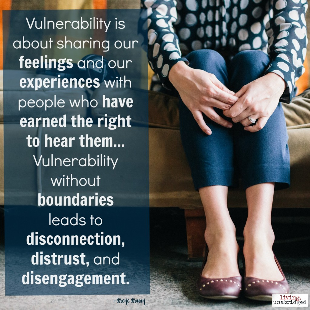 boundaries for vulnerability