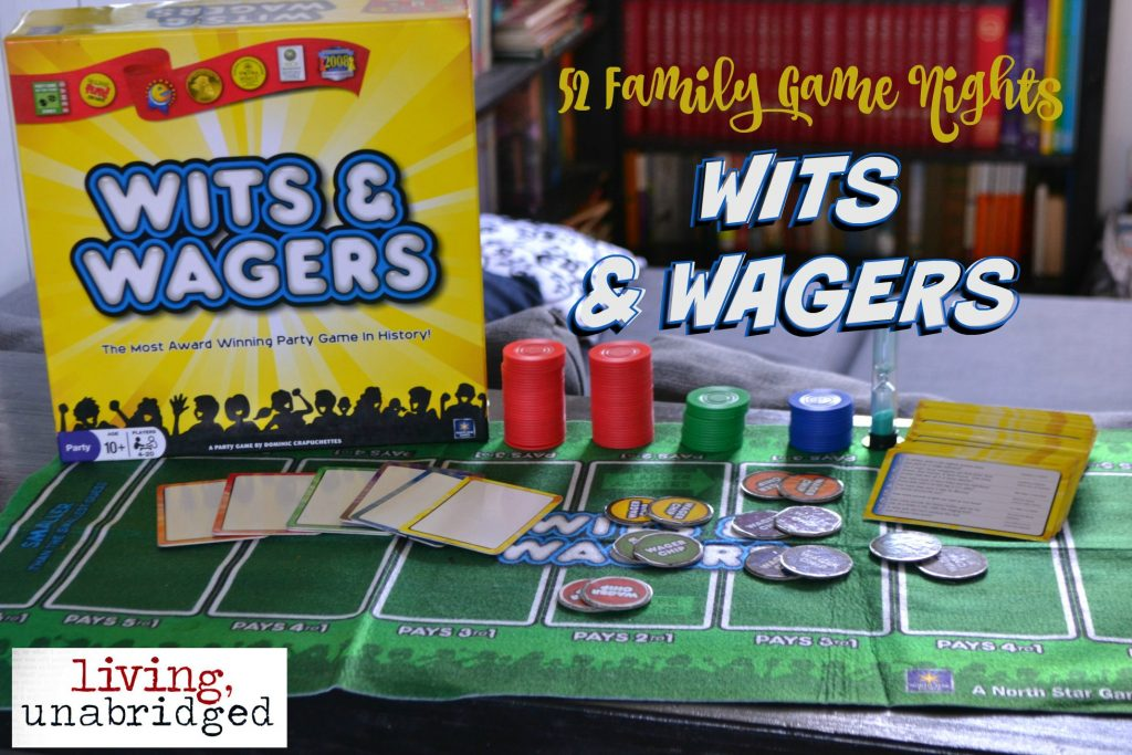 family game wits wagers