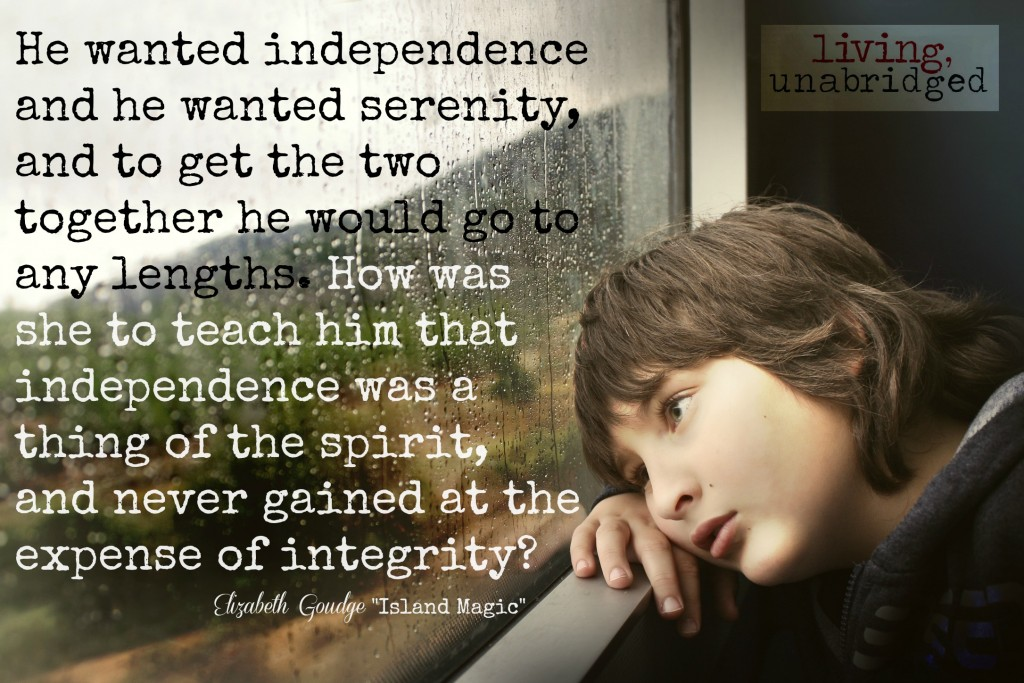 independence serenity integrity