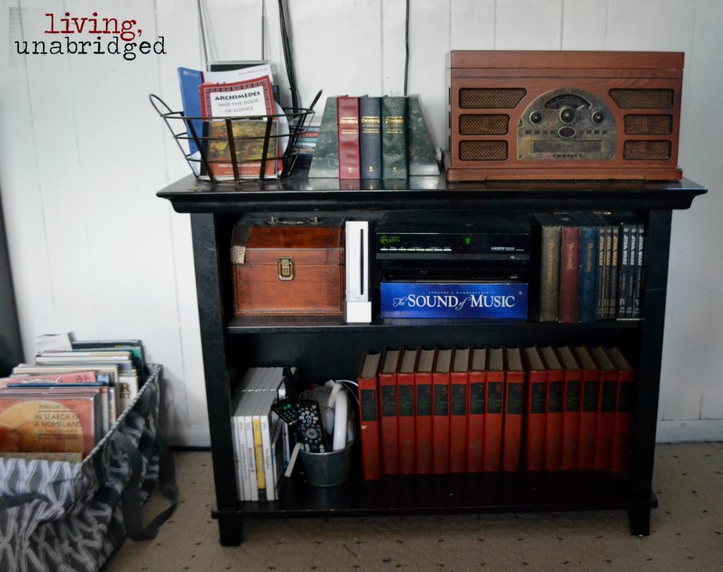 crosley and books