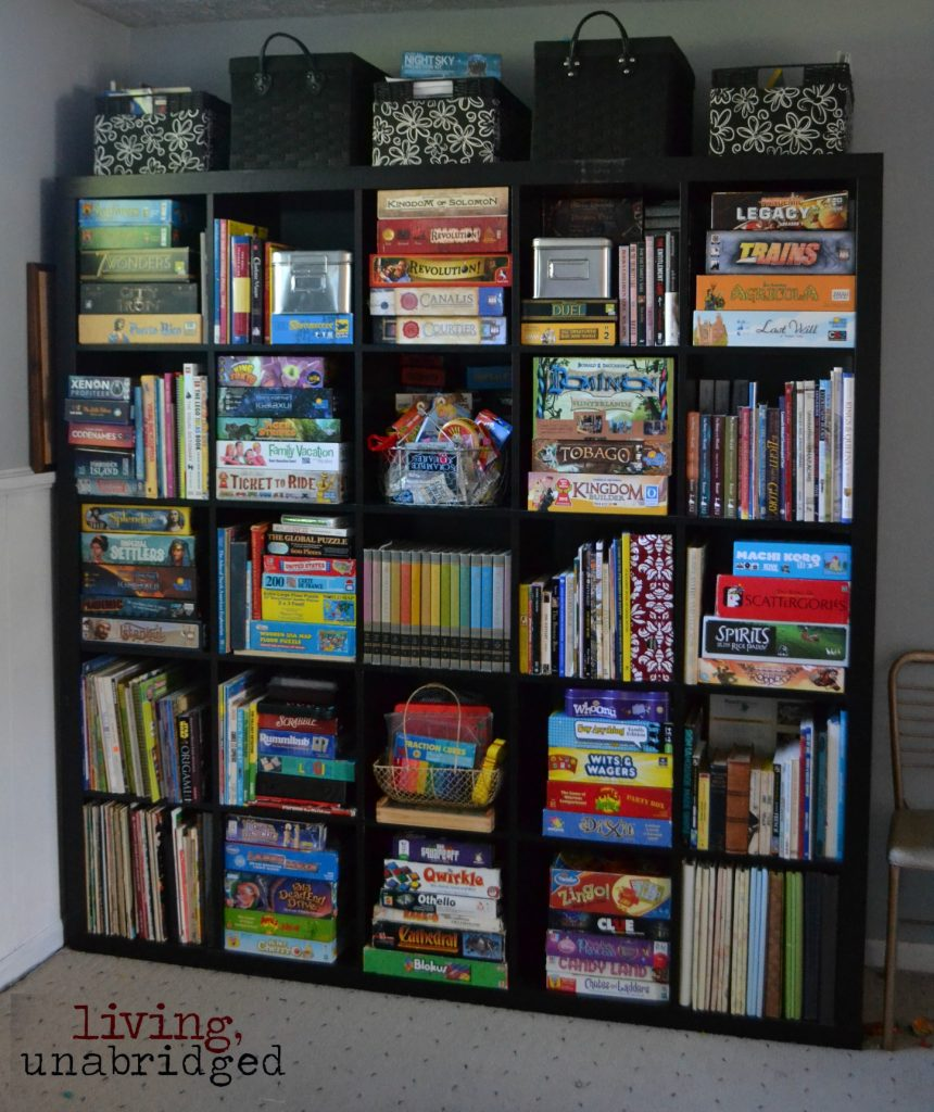 expedit organized books