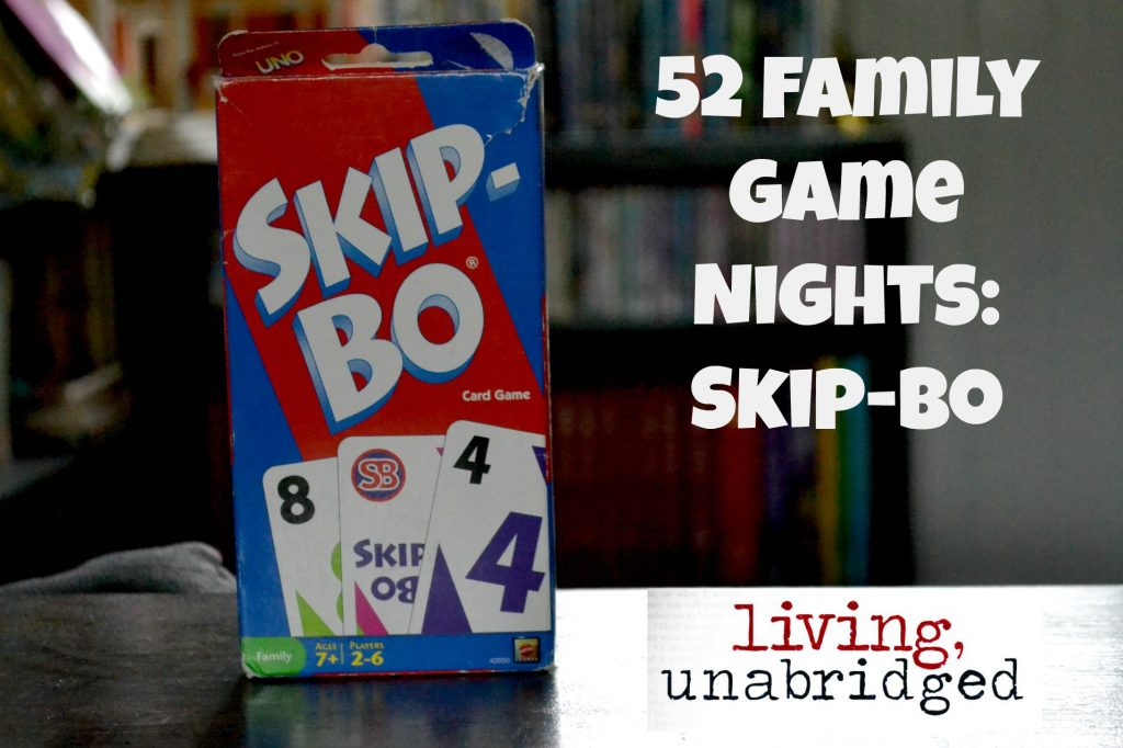 family game night skip bo
