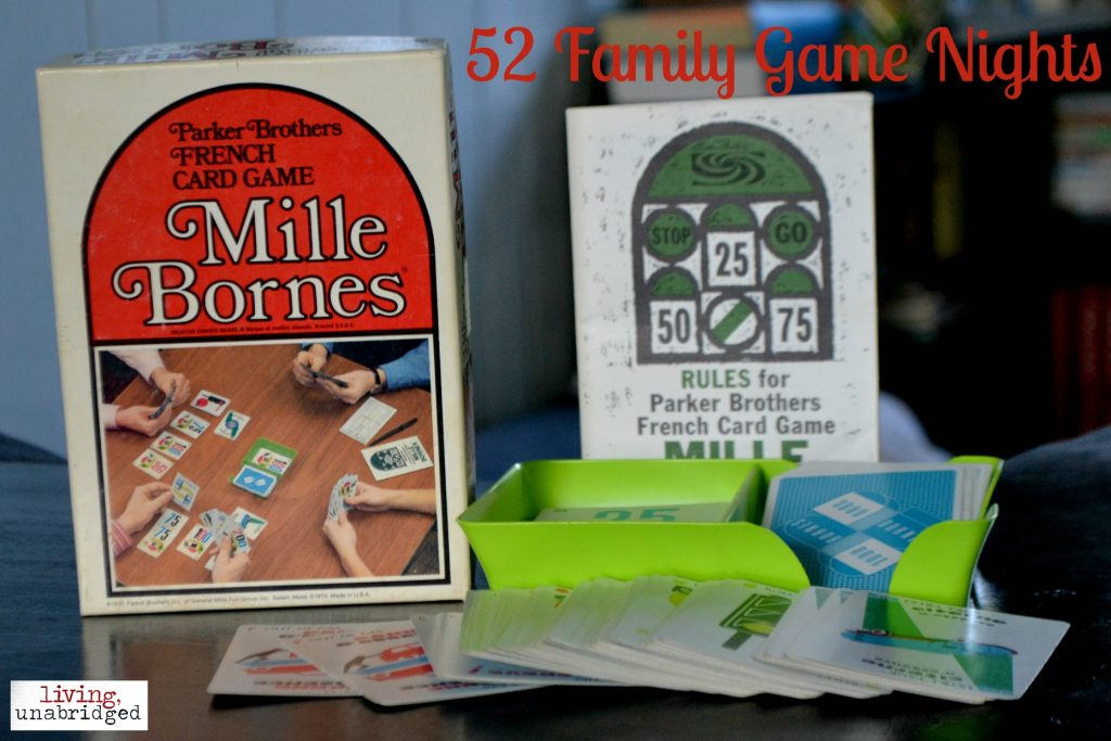 family game night milles bornes