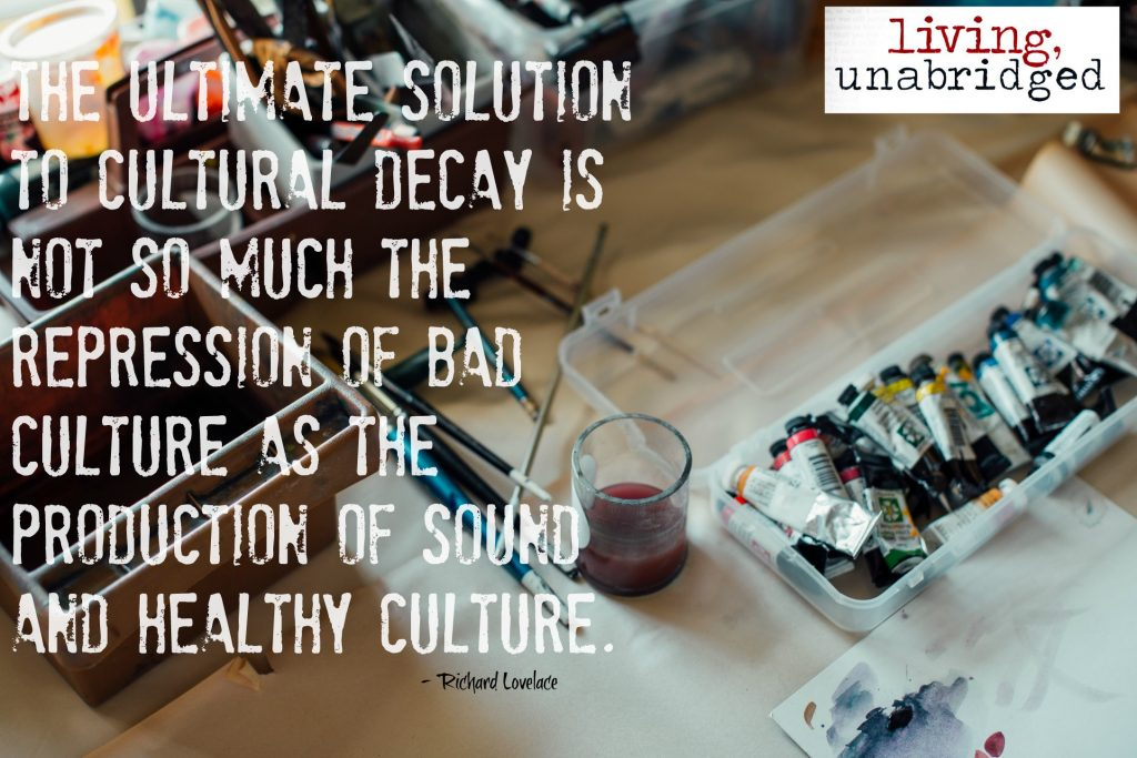 sound and healthy culture