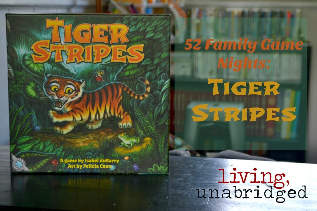 family game night tiger stripes