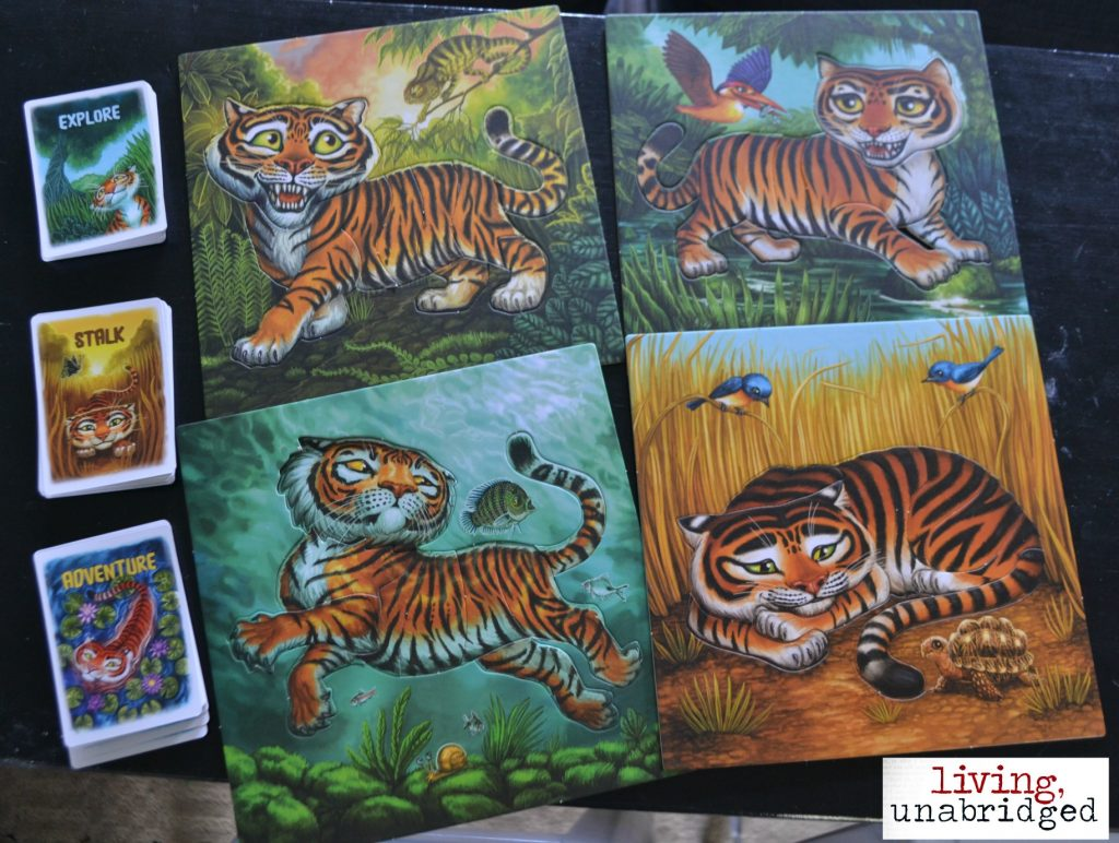 tiger stripes boards and cards